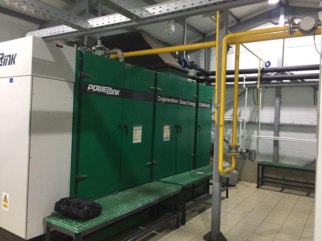 PowerLink Gas CHP cogeneration