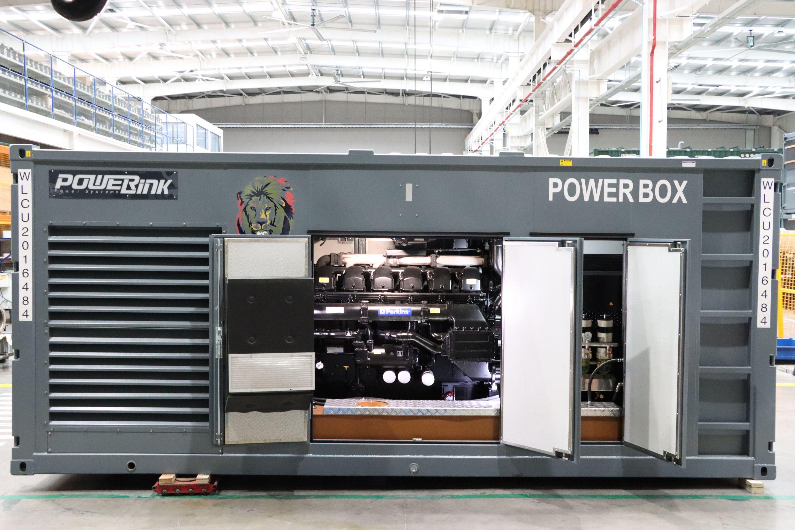 PowerLink Soundproof Diesel Generators Container