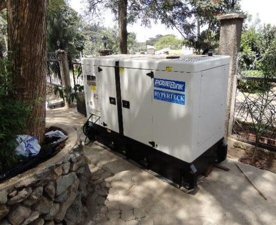 Kenya Power Generation diesel generator