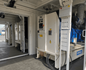 Korea Oil and Gas Project diesel generator