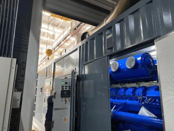 Powerlink diesel-to-power set