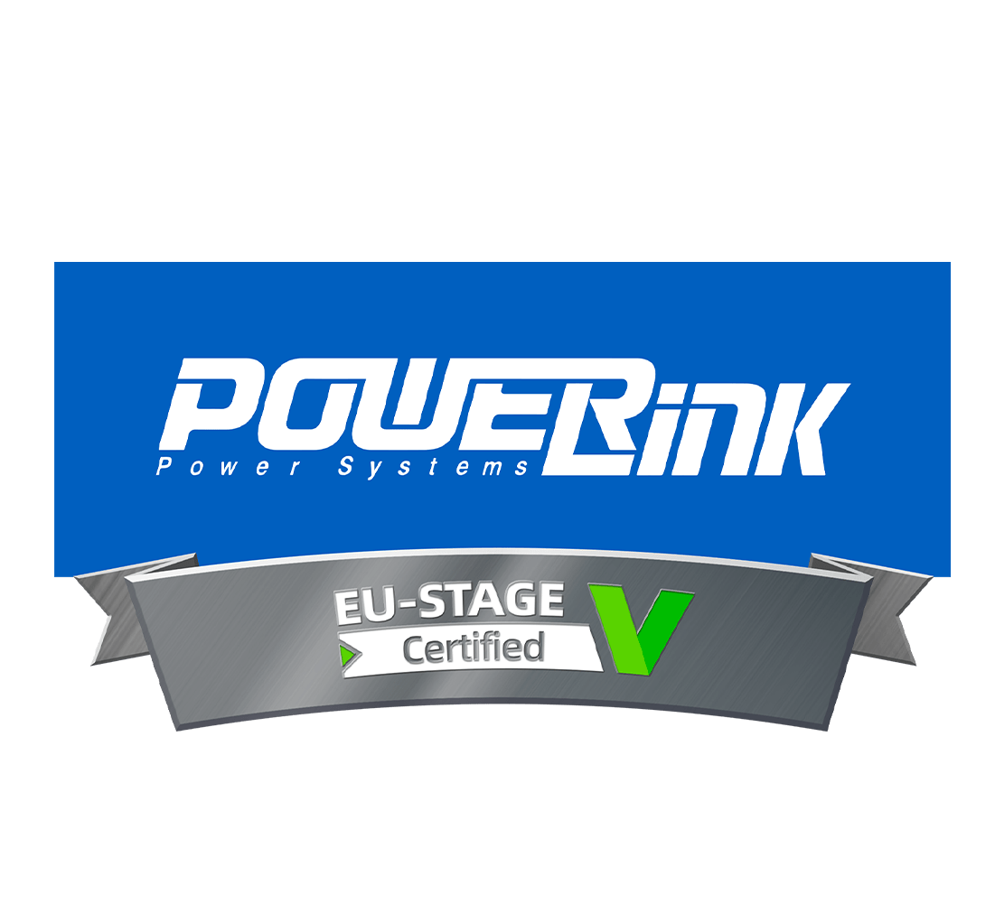 PowerLink EU-STAGE Certified DIESEL GENERATORS
