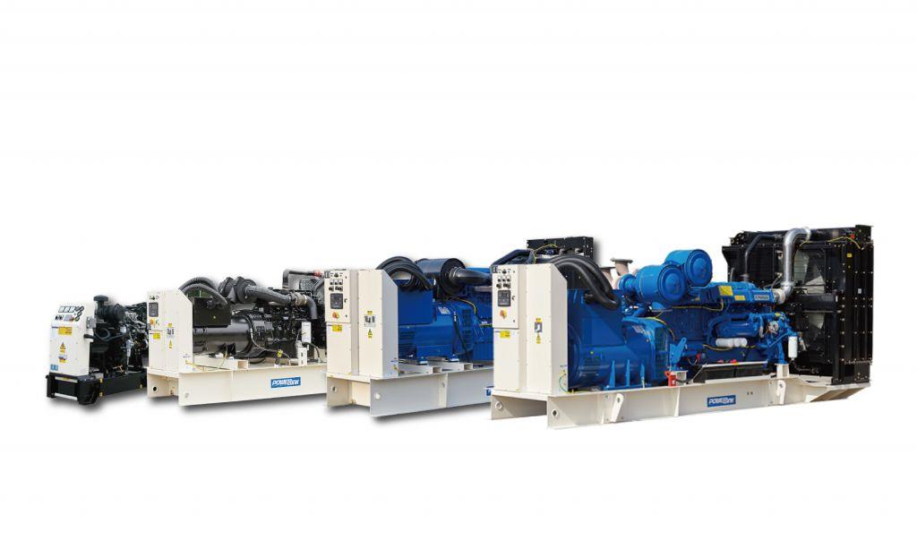 Diesel Generator PowerLink Open Set