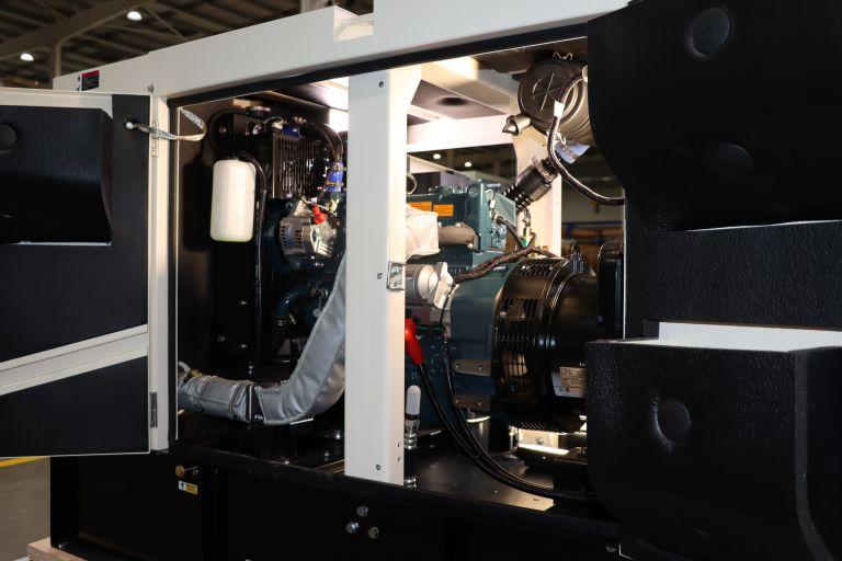 38KVA AK38S-T4F Diesel Generator PowerLink in working