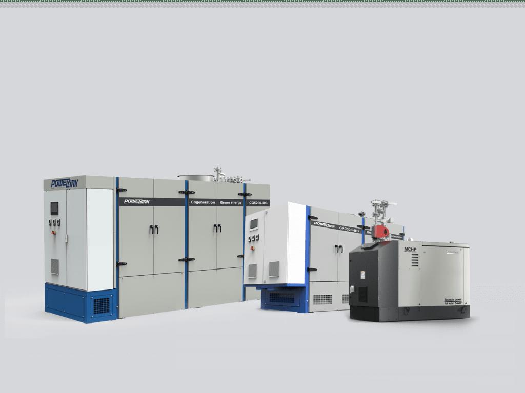 PowwerLink Gas cogeneration Units 10kw-2500kw