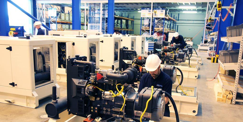 PowerLink UK Diesel Generator Manufacturing Line