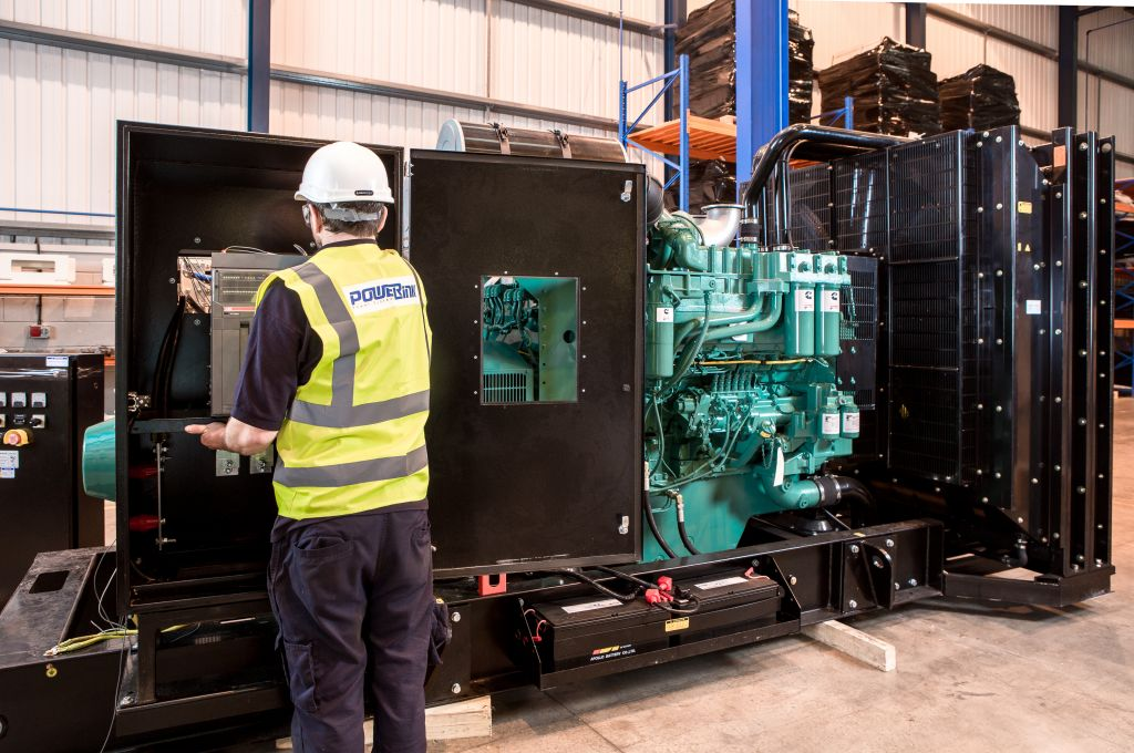 PowerLink UK factory inspect machine photo