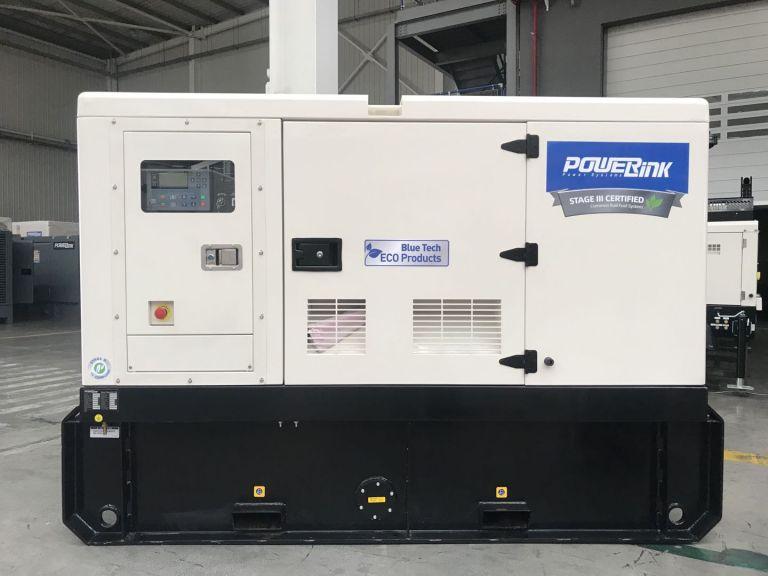 100KVA Stage IIIA Diesel Generator PowerLink