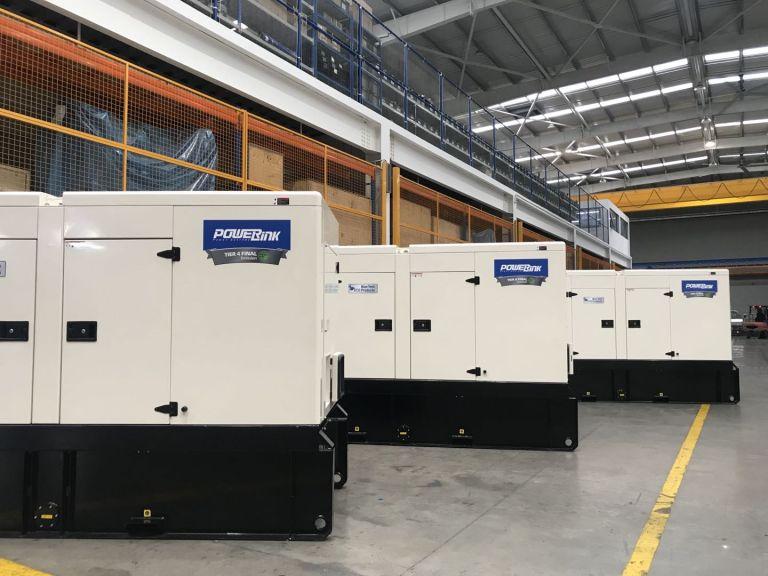 T4F Diesel Generator PowerLink display