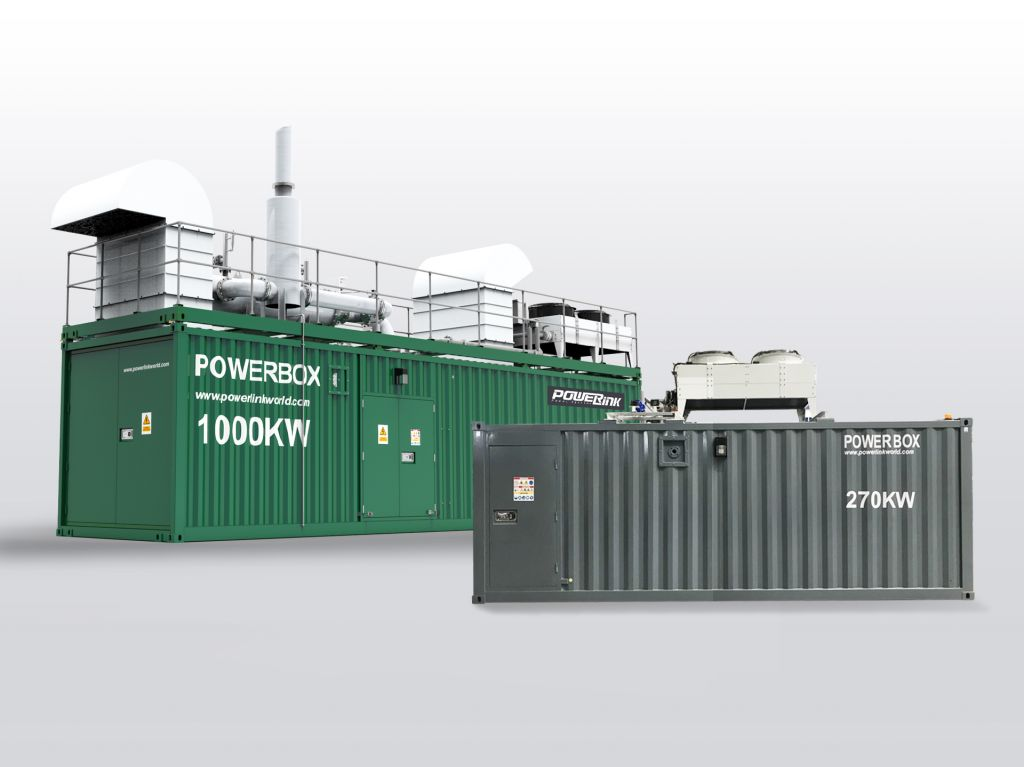 container type gas cogeneration PowerLink