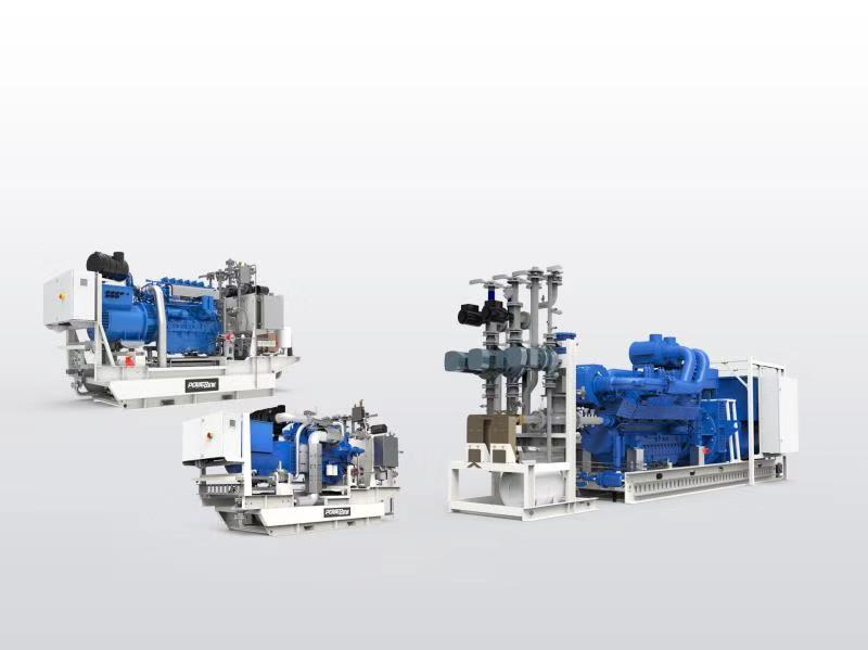 Open type gas cogeneration Powerlink