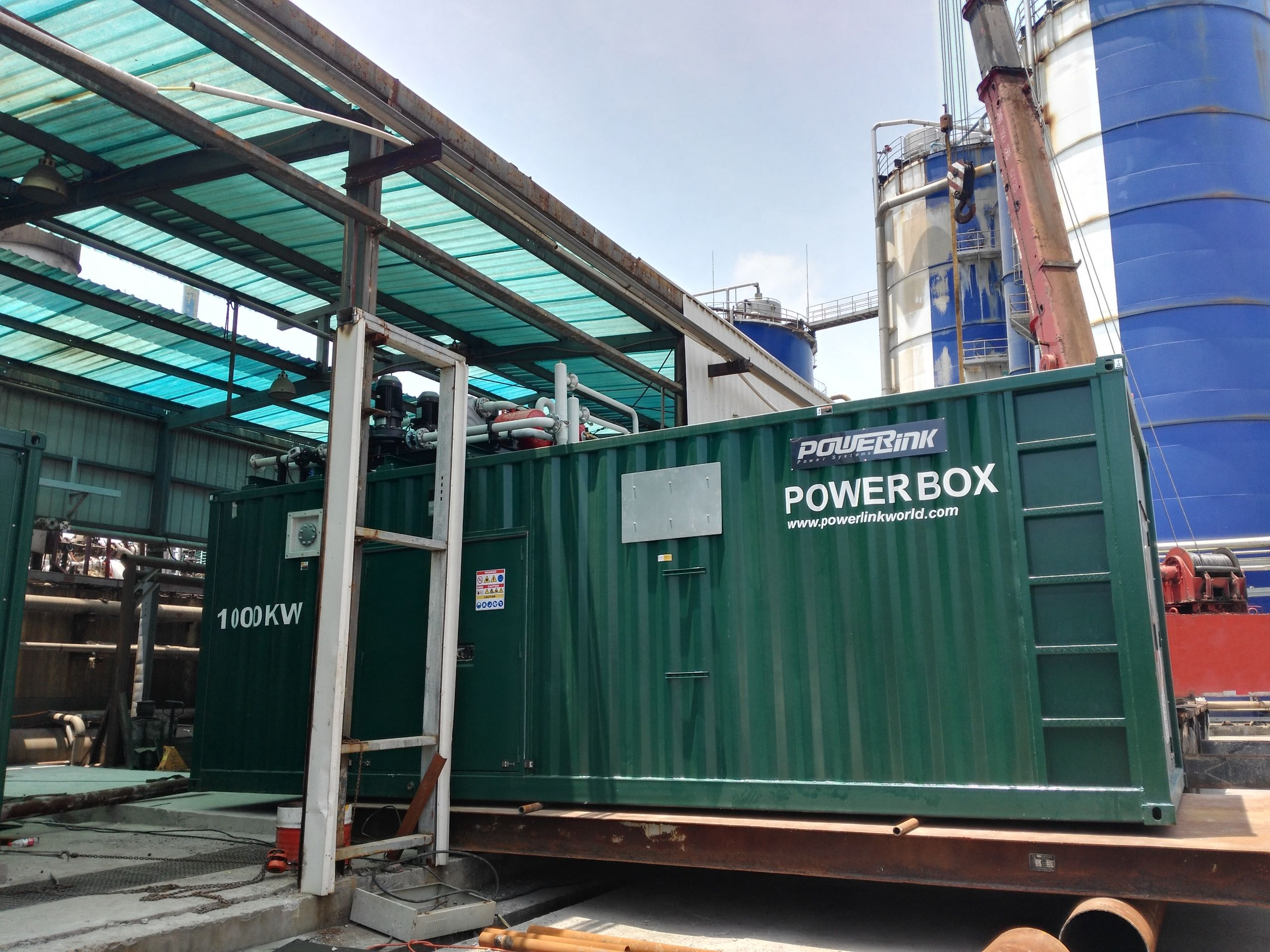 PowerLink   2MW Natural Gas Power Generation Project