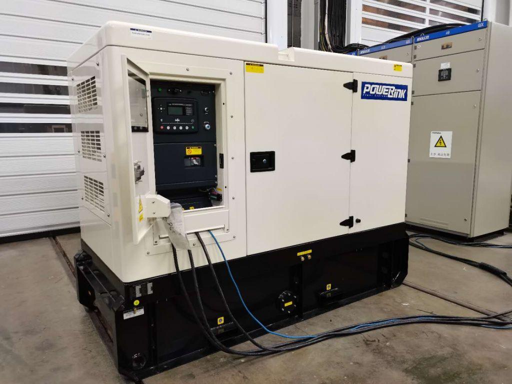 T4 Diesel Generator-testing display