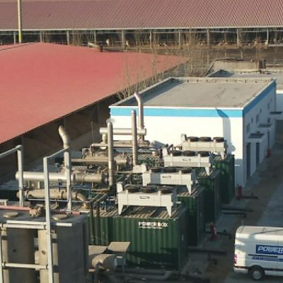 PowerLink   2MW Biogas Power Generation Project -ShanDong