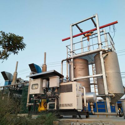 PowerLink   500kW Biogas Power Generation Project outdoor