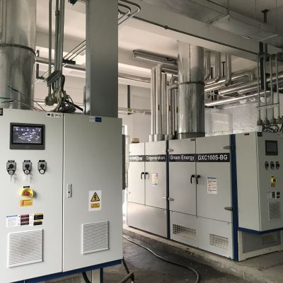 Powerlink 400kW Biogas Power Generation Project -QingPu Modern agriculture