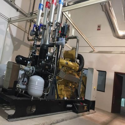 1.8MW biogas CHP system engineering project-2
