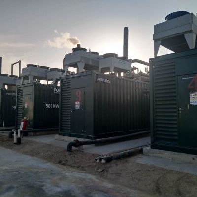 PowerLink   2MW Biogas Power Generation Project