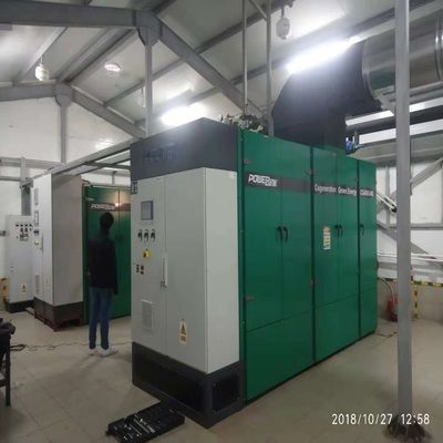 800kw Natural Gas Bolier House Project-2
