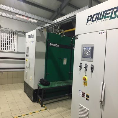 Powerlink 800kw Natural Gas Bolier House Project