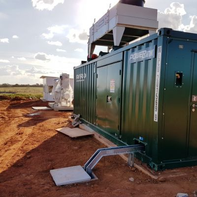 Powerlink 75kW Biogas Power Generation Project