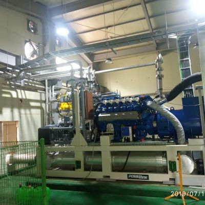 Powerlink 520kW Natural Gas Power Generation Project