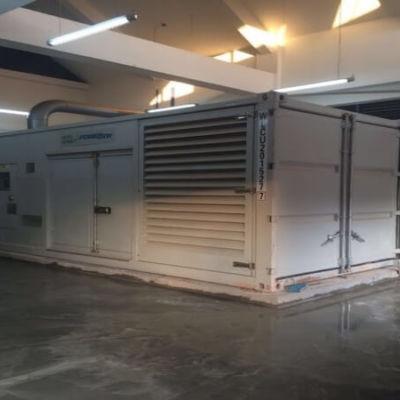 Laos Satellite Power Station diesel generator