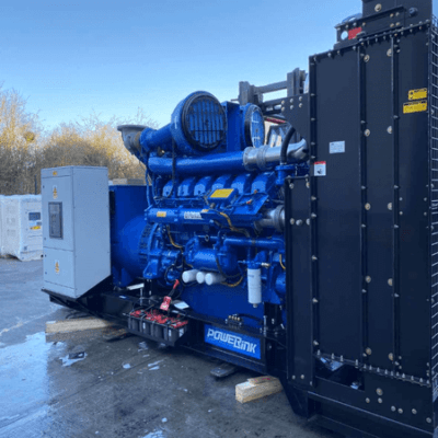 New Year Festival Event Power Project diesel generator