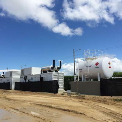 Powerlink Columbia Port Site Diesel Generator Power