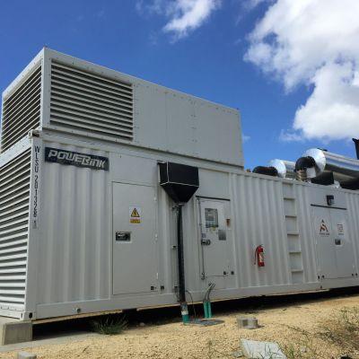 Powerlink Columbia Port Site Diesel Generator Power Project outdoor