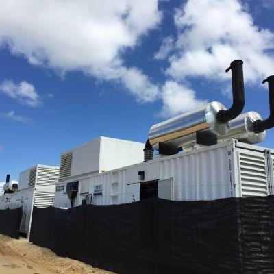 Powerlink Columbia Port Site Diesel Generator Power Project