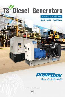 PowerLink T3 Diesel Generator Brochure