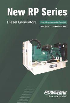 PowerLink New RP Series Diesel Generators
