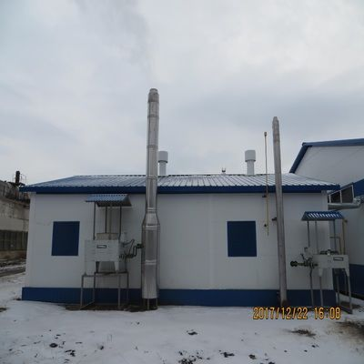 Russian 400kw Natural Gas Power Generation Project-2