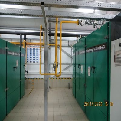 Russian 400kw Natural Gas Power Generation Project